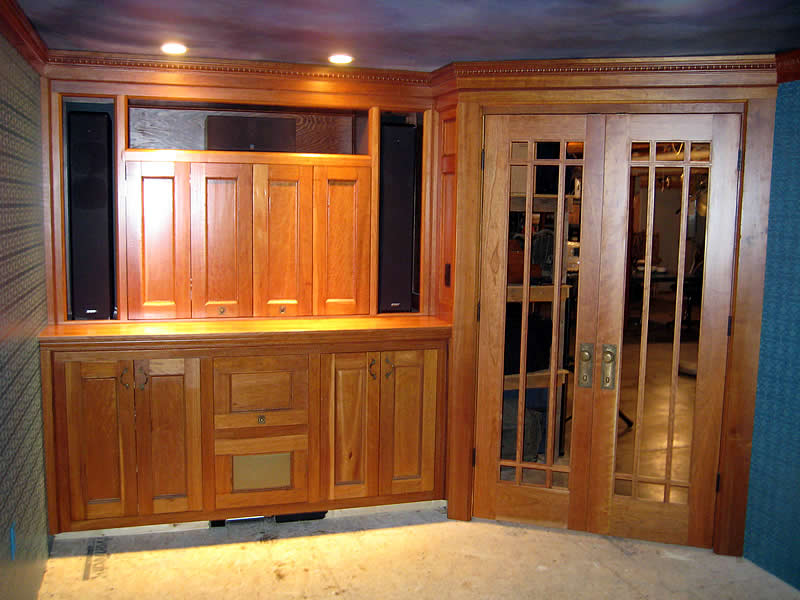 custom cabinetry Lakewood Construction Vermont
